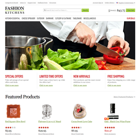 Websites: Fashion Kitchens